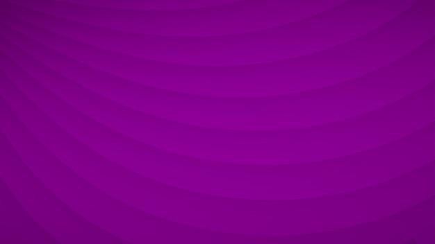 Fundo abstrato de listras curvas onduladas com sombras em cores roxas