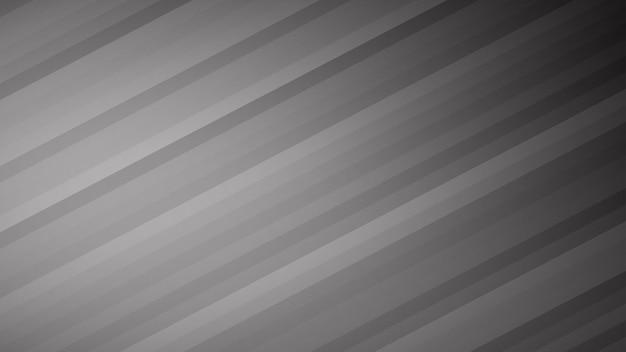 Fundo abstrato de listras gradientes em cores cinza
