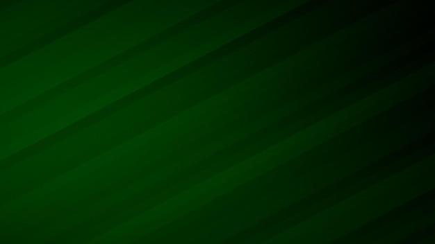 Fundo abstrato de listras gradientes em cores verdes escuras