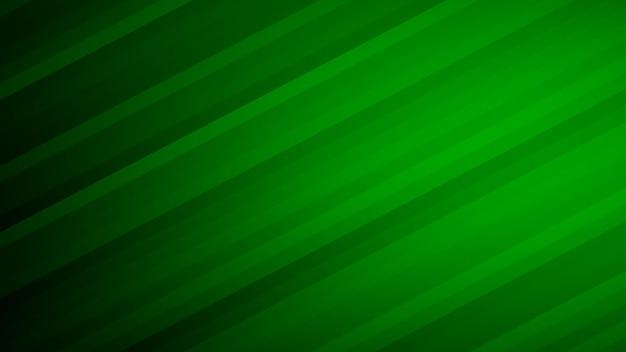 Fundo abstrato de listras gradientes em cores verdes