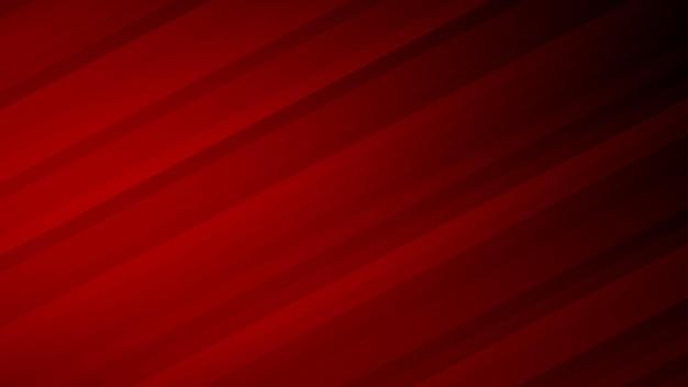 Fundo abstrato de listras gradientes em cores vermelhas