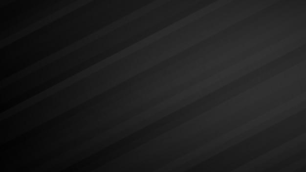 Fundo abstrato de listras gradientes nas cores preto e cinza