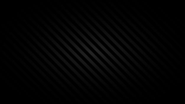 Fundo abstrato de listras inclinadas em cores pretas
