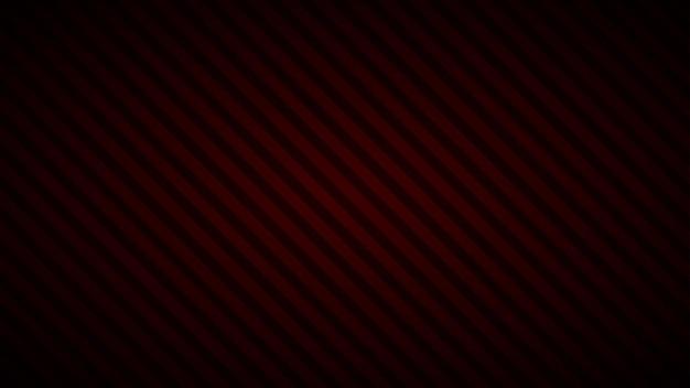 Fundo abstrato de listras inclinadas em cores vermelho-escuras