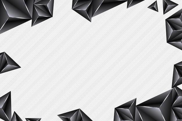 Fundo abstrato de luxo. futurista. estilo premium brilhante de triângulos