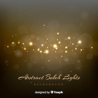Fundo abstrato de luzes de bokeh