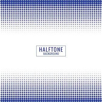 Fundo abstrato de meio-tom azul e branco