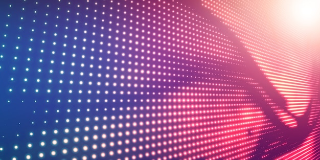 Fundo abstrato de meio-tom com luz brilhante