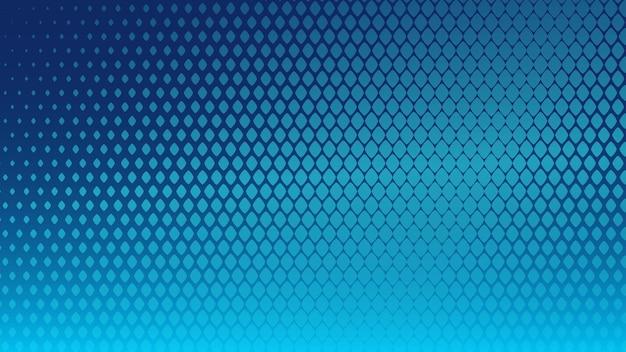 Fundo abstrato de meio-tom de pequenos símbolos em cores azuis claras