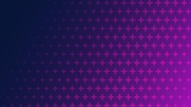 Fundo abstrato de meio-tom de pequenos símbolos em cores roxas