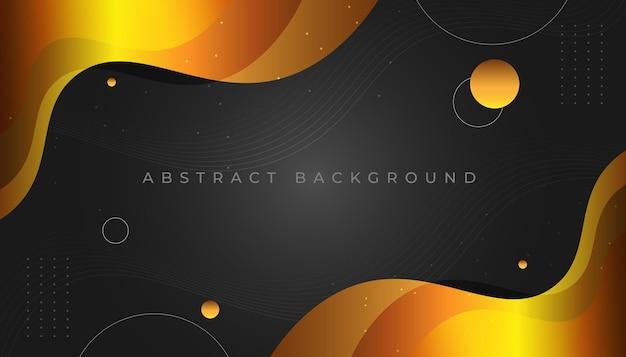 Fundo abstrato de ondas mínimas escuras