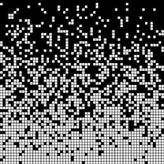 Fundo abstrato de pixel
