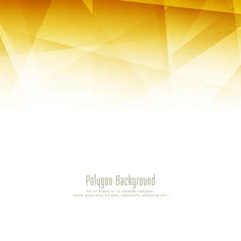 Fundo abstrato de polígono brilhante