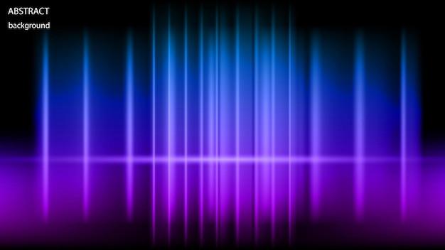 Fundo abstrato de raios de néon brilhantes.