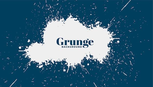 Fundo abstrato de respingos de grunge