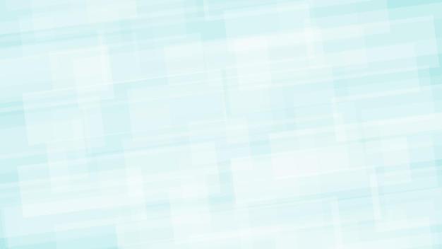 Fundo abstrato de retângulos translúcidos nas cores branco e azul claro