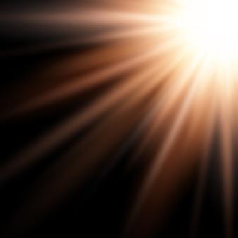 Fundo abstrato de starburst
