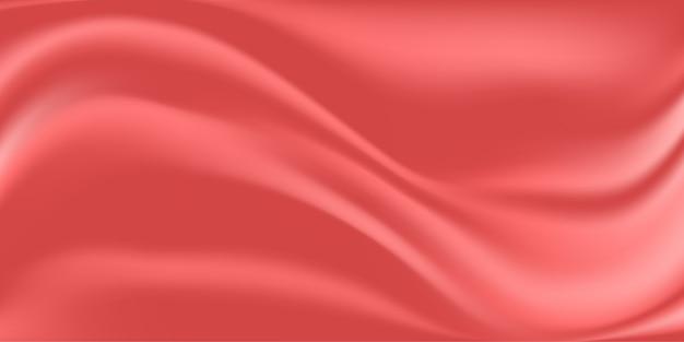 Fundo abstrato de tecido de seda rosa