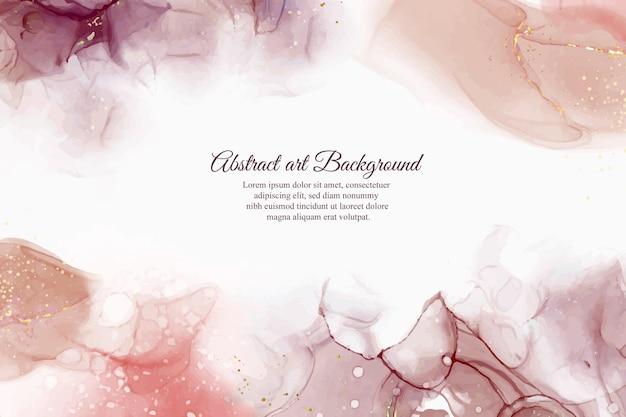 Fundo abstrato de tinta de álcool