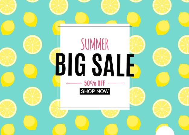 Fundo abstrato de venda de verão com folhas de palmeira, flamingo e sorvete
