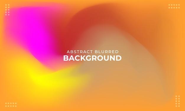 Fundo abstrato desfocado colorido com gradiente de malha