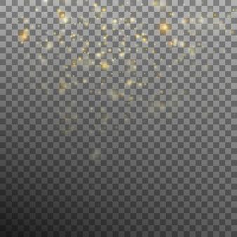 Fundo abstrato do bokeh do ouro.