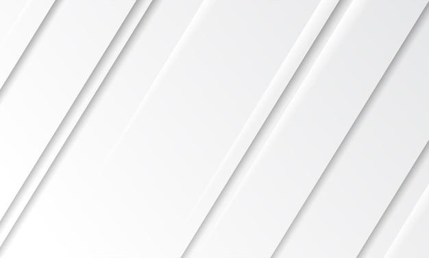 Fundo abstrato do branco da camada do corte do papel do círculo 3d. projeto elegante da forma do círculo.