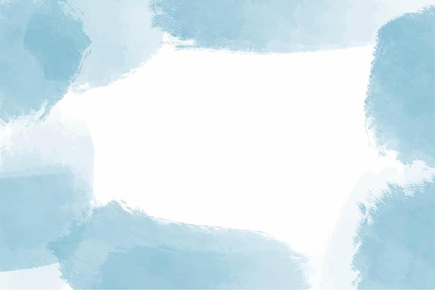 Fundo abstrato do céu azul em aquarela