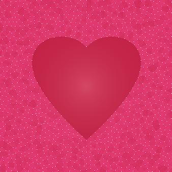 Fundo abstrato do coração