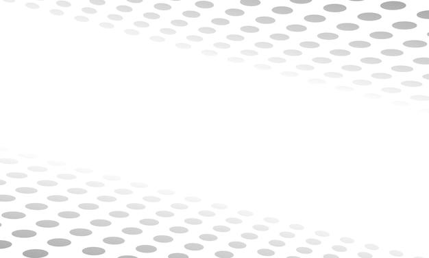 Fundo abstrato do estilo de meio-tom do padrão de pontos brancos e cinza abstratos. design para website.