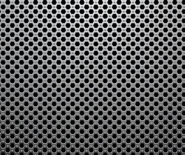 Fundo abstrato do padrão sem emenda metálico industrial