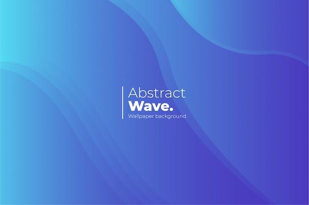 Fundo abstrato do papel de parede da onda