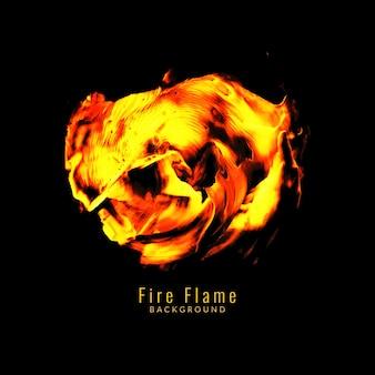 Fundo abstrato do projeto da flama do incêndio