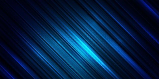 Fundo abstrato do teste padrão da listra. papel de parede da linha de cor azul.