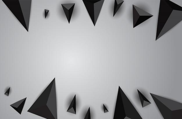 Fundo abstrato do triângulo
