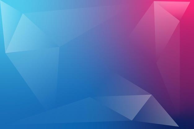 Fundo abstrato do vetor da forma do triângulo vermelho azul para negócios