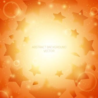 Fundo abstrato do vetor. estrelas de fundo.