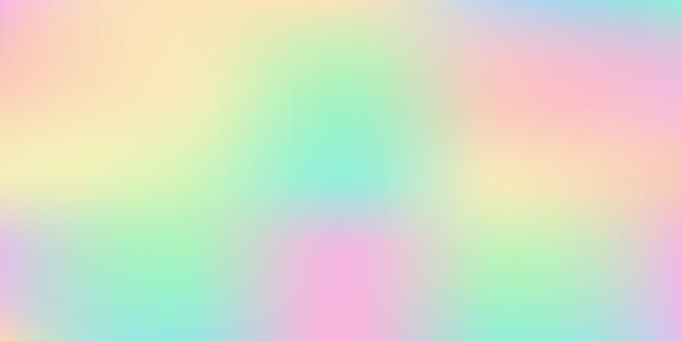 Fundo abstrato do vetor gradiente desfocado em tom pastel