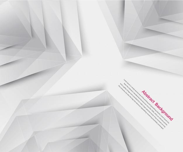 Fundo abstrato do vetor. origami geométrico