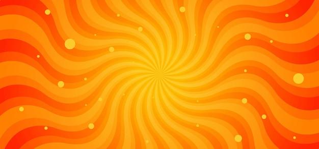 Fundo abstrato dos raios das ondas do sunburst
