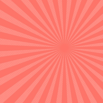 Fundo abstrato dos raios solares. fundo moderno de cor rosa