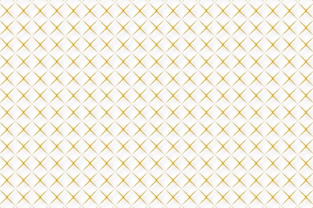 Fundo abstrato dourado padrão geométrico