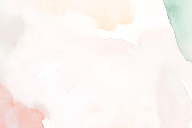 Fundo abstrato em aquarela pastel