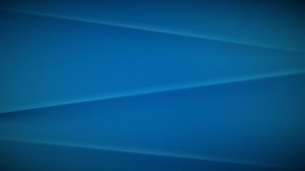 Fundo abstrato em cores azuis Vetor Premium