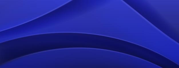 Fundo abstrato em cores azuis
