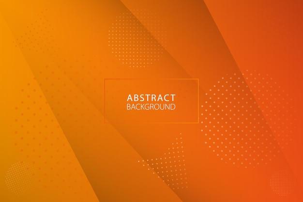 Fundo abstrato em design moderno. projeto da textura do fundo abstrato laranja do vetor. ilustração vetorial.
