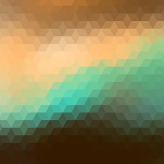 Fundo abstrato em tons marrons e verdes