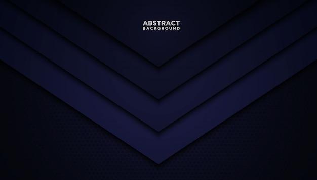 Fundo abstrato escuro com camadas azuis da sobreposição.