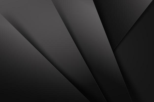 Fundo abstrato escuro e preto sobreposto