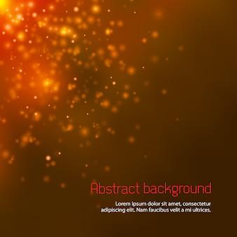 Fundo abstrato espaço